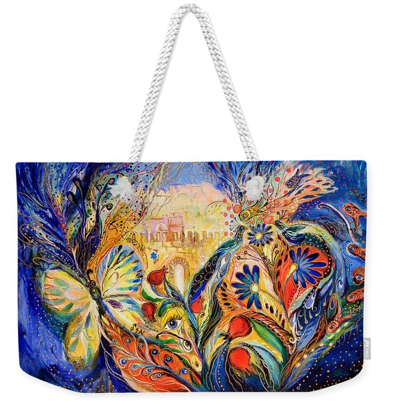 The Shining Of Jerusalem Weekender Tote Bag