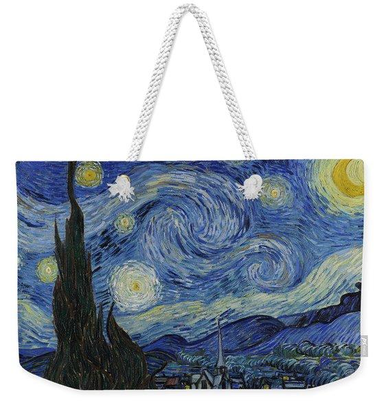 The Starry Night Weekender Tote Bag