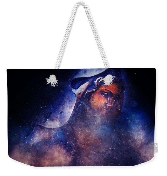 The Virgin Mary Weekender Tote Bag