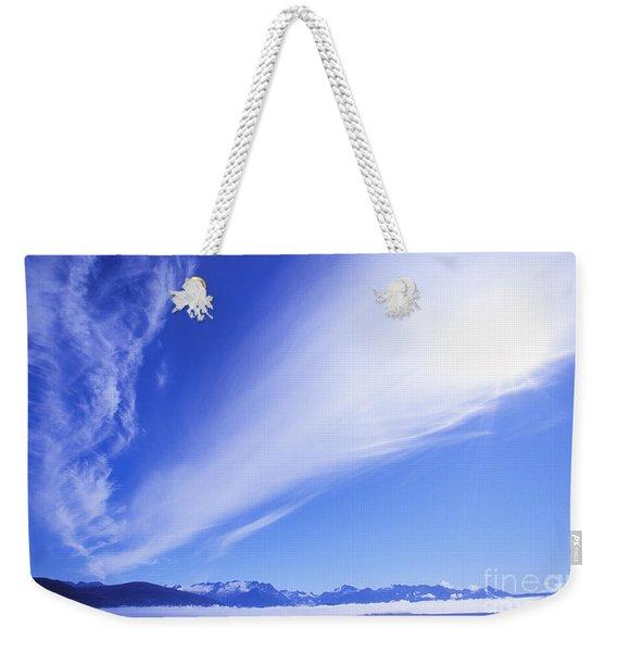View Of Alaska Weekender Tote Bag