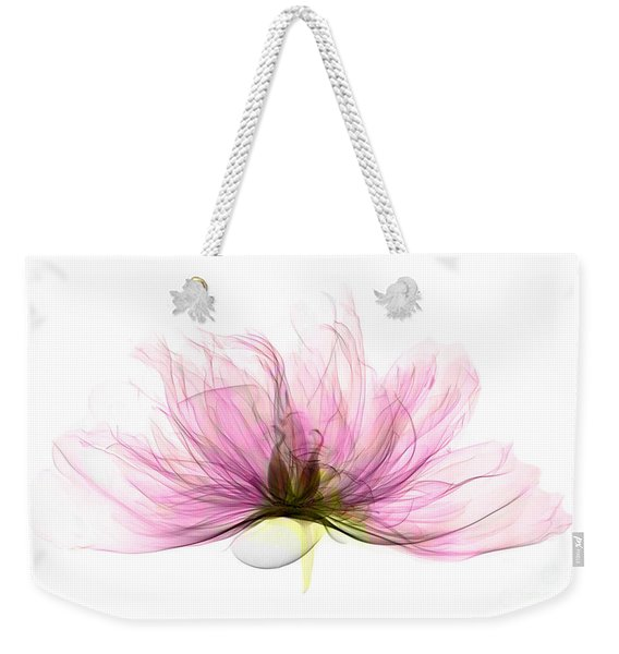 X-ray Of Peony Flower Weekender Tote Bag