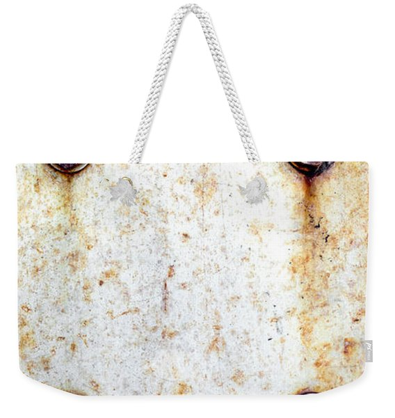 Metal Background Weekender Tote Bag