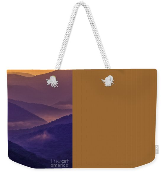 Allegheny Mountain Sunrise Two Weekender Tote Bag