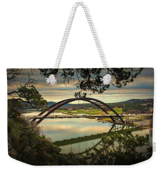 360 Bridge Weekender Tote Bag