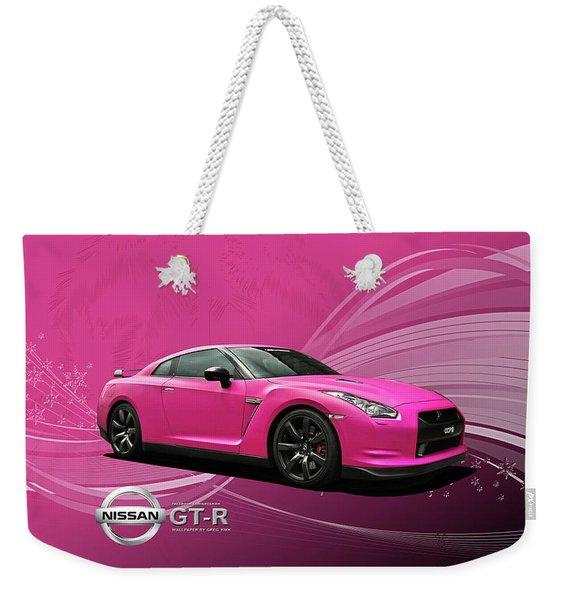 38217 Nissan Gt R  Weekender Tote Bag