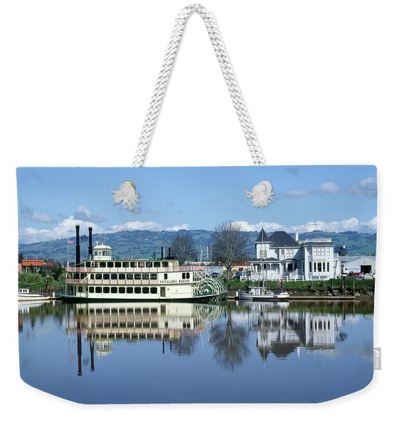 3b6380 Petaluma Queen Riverboat Weekender Tote Bag