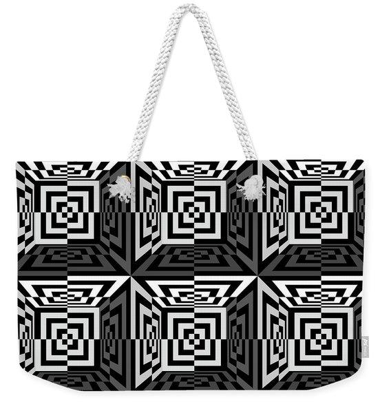 3d B2  Weekender Tote Bag