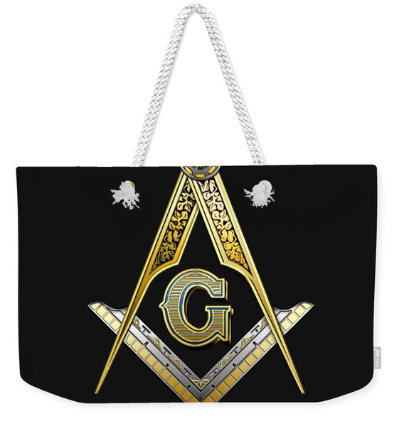 3rd Degree Mason - Master Mason Masonic Jewel  Weekender Tote Bag