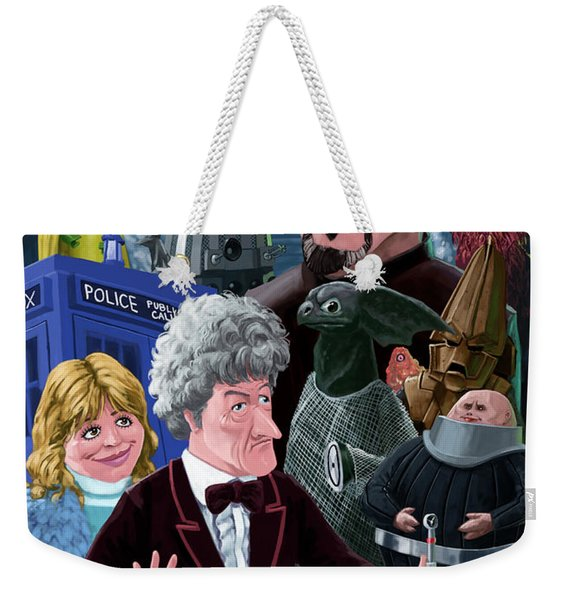 3rd Dr Who And Friends Weekender Tote Bag