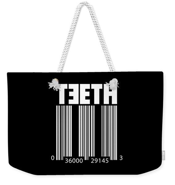 3teeth Weekender Tote Bag