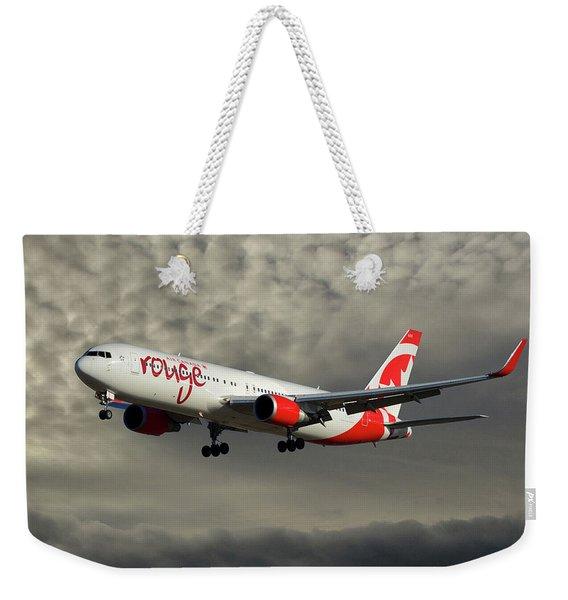 Air Canada Rouge Boeing 767-333 116 Weekender Tote Bag