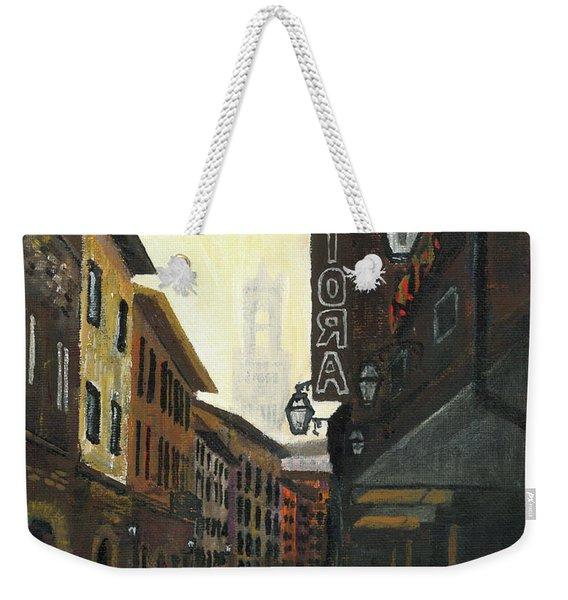 4 Borgio Dei Greci Weekender Tote Bag