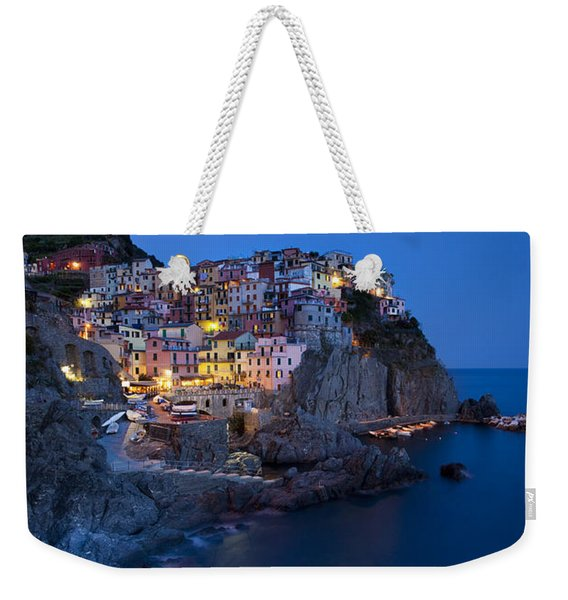 Weekender Tote Bag featuring the photograph Cinque Terre by Brian Jannsen
