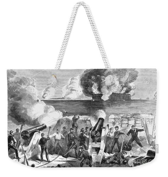 Civil War: Fort Sumter Weekender Tote Bag