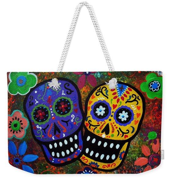 Couple Weekender Tote Bag