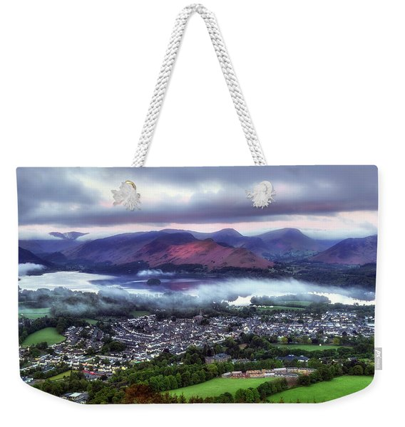 Derwentwater - Lake District Weekender Tote Bag