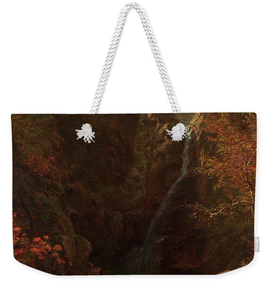 Glen Ellis Falls Weekender Tote Bag