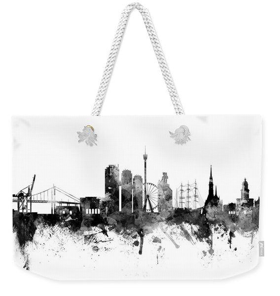 Gothenburg Sweden Skyline Weekender Tote Bag