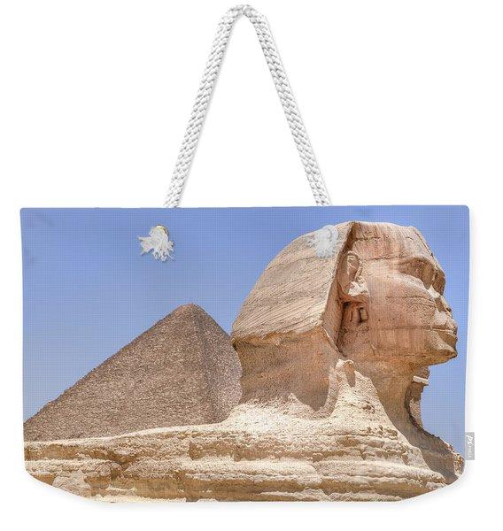 Great Sphinx Of Giza - Egypt Weekender Tote Bag