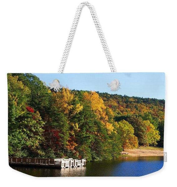 Hanging Rock Lake Weekender Tote Bag