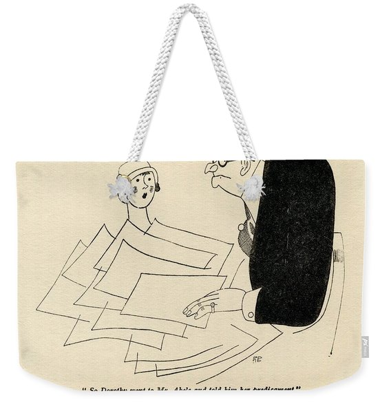Illustration By Ralph Barton 1891 To Weekender Tote Bag