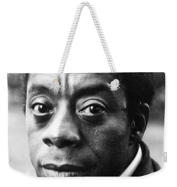 James Baldwin Weekender Tote Bag