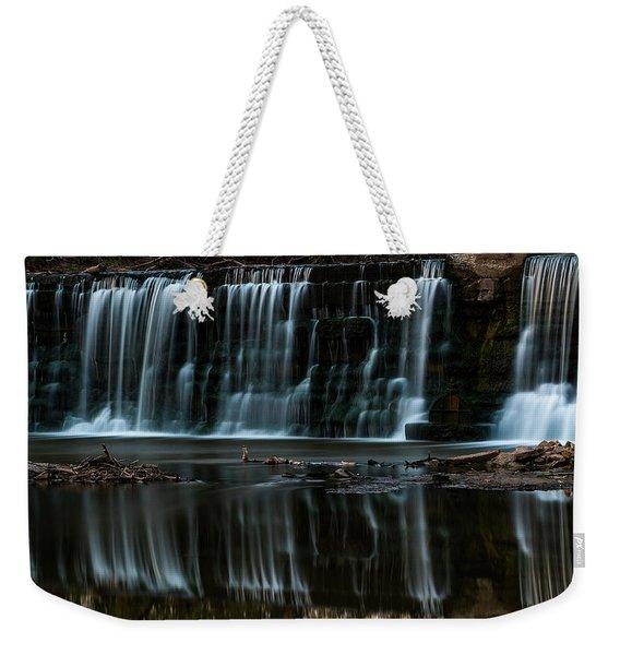 Kansas Waterfall Weekender Tote Bag