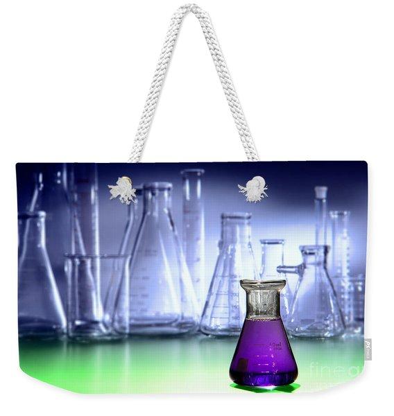 Laboratory Equipment In Science Research Lab Weekender Tote Bag