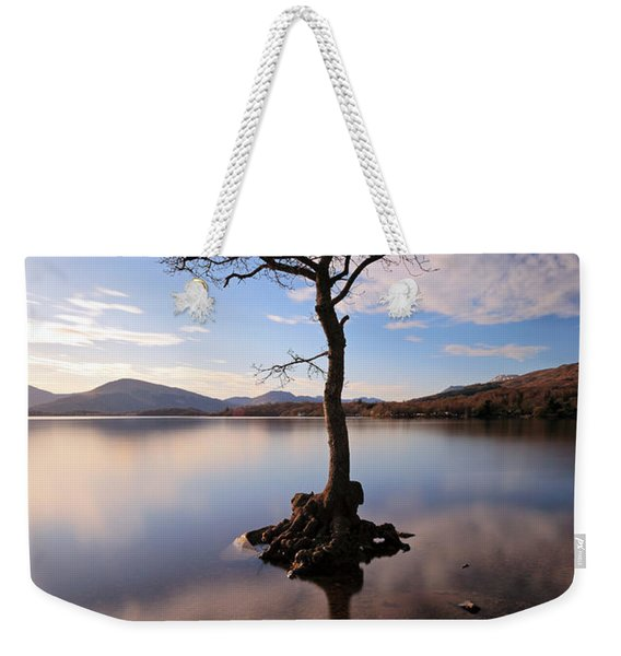 Loch Lomond Tree Weekender Tote Bag