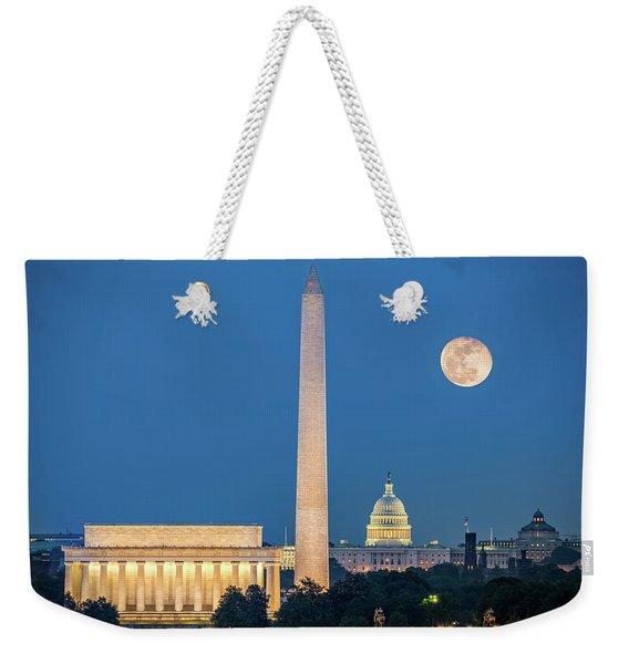 4 Monuments Weekender Tote Bag