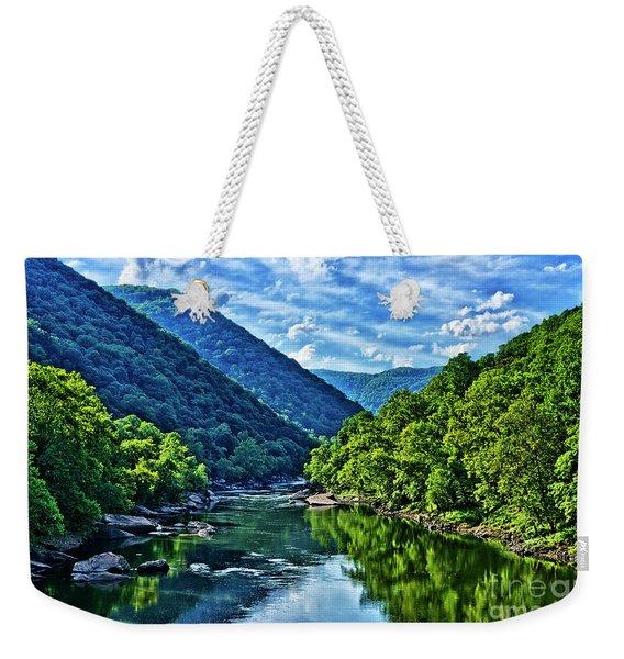 New River Gorge National River Weekender Tote Bag