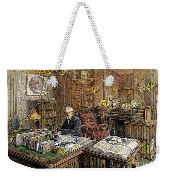 Oliver Wendell Holmes Weekender Tote Bag