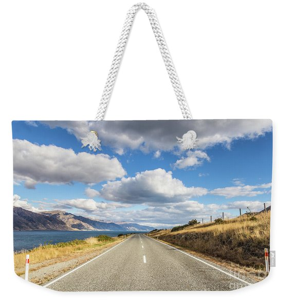 On  The Road In New Zealand Weekender Tote Bag