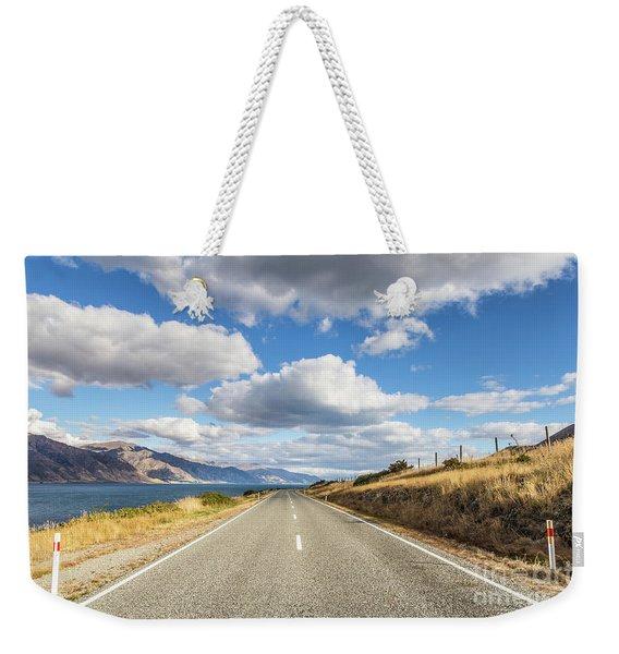 On  The Road In New Zealand Weekender Tote Bag