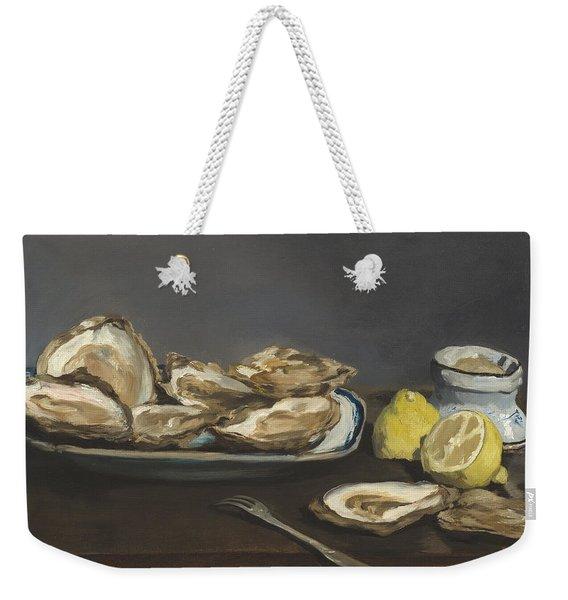 Oysters Weekender Tote Bag