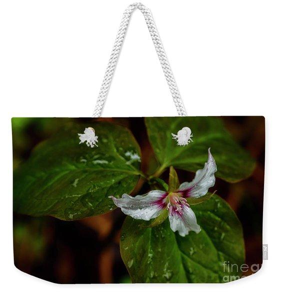 Painted Trillium  Weekender Tote Bag