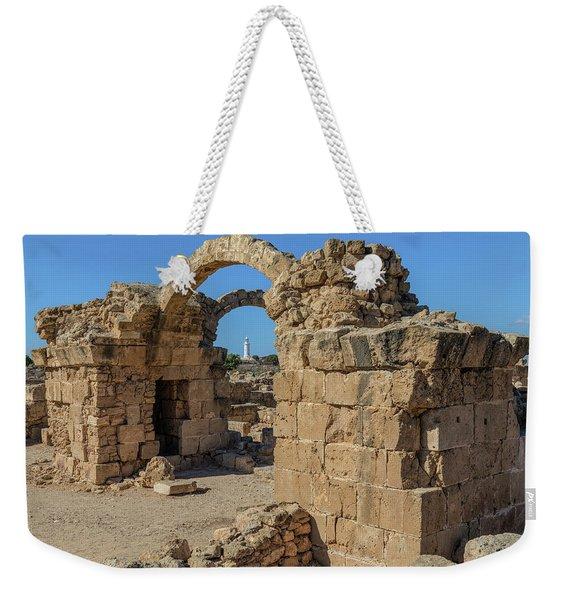 Paphos Archaeological Park - Cyprus Weekender Tote Bag