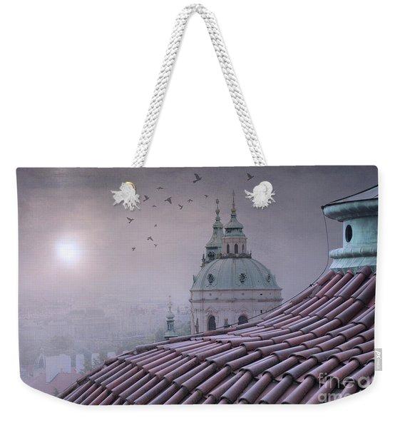 Prague Roof Tops Weekender Tote Bag