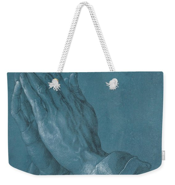 Praying Hands Weekender Tote Bag