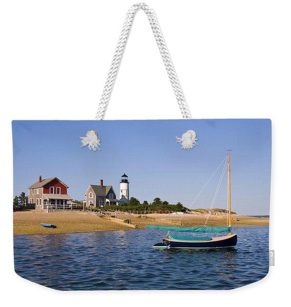 Sandy Neck Lighthouse Weekender Tote Bag