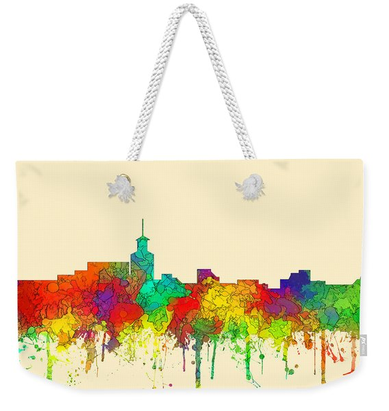 Santa Fe New Mexico Skyline Weekender Tote Bag