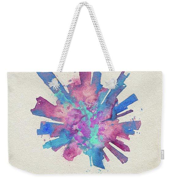 Skyround Art Of Chicago, United States Weekender Tote Bag