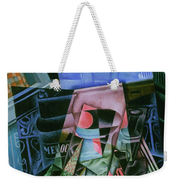 Still Life Before An Open Window, Place Ravignan Weekender Tote Bag