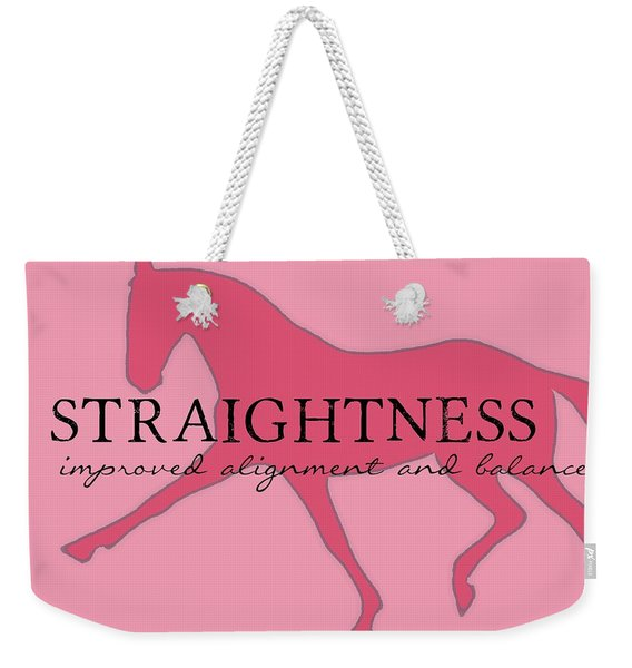 Straightness Weekender Tote Bag
