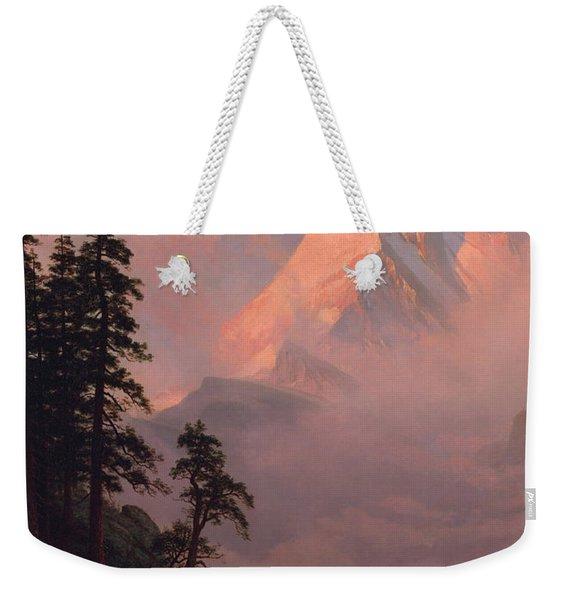 Sunrise On The Matterhorn Weekender Tote Bag