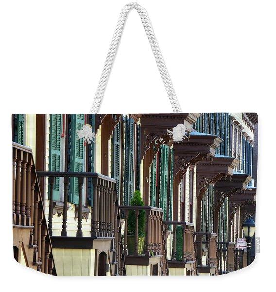 Sylvan Terrace Weekender Tote Bag