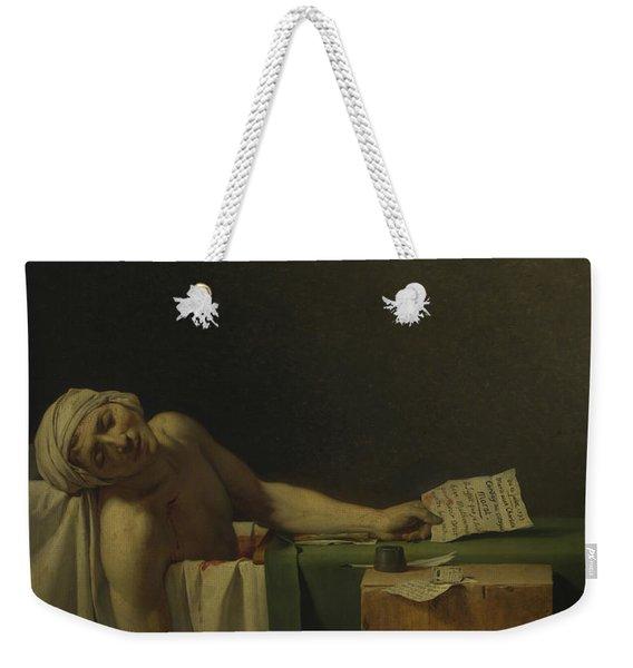 The Death Of Marat  Weekender Tote Bag