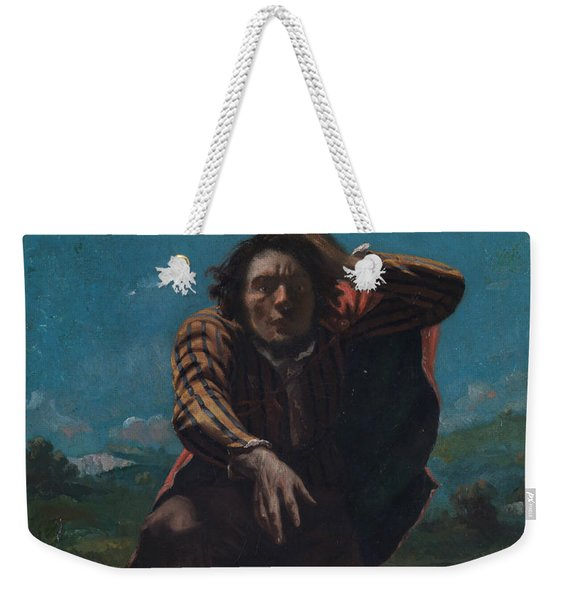 The Man Made Mad With Fear Weekender Tote Bag
