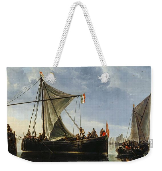 The Passage Boat Weekender Tote Bag