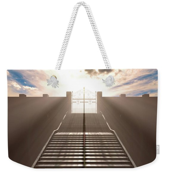 The Stairs To Heavens Gates Weekender Tote Bag